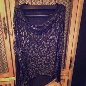 Allsaints animal print shirt